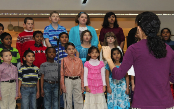 Elementary and High School Choirs